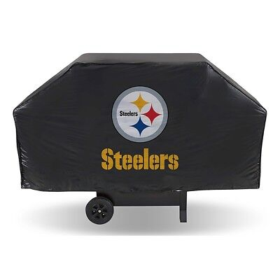 Nfl Gear Grill Cover - PITTSBURGH STEELERS DELUXE GRILL/BBQ COVER ~NEW~NFL GEAR