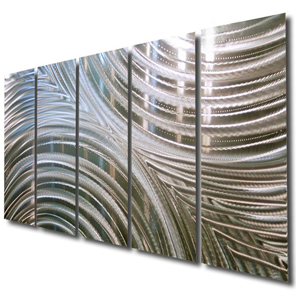 Statements2000 Handmade Silver Metal Wall Art Decor by Jon Allen Synchronicity