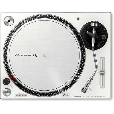 Pioneer PLX-500 Direct Drive DJ Turntable - White