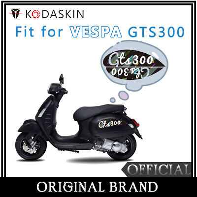 2D Printing Scooter Fairing Body Side Emblem Stickers Decal Set for Vespa GTS300