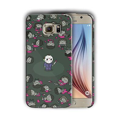Halloween Jason Mask Samsung Galaxy S4 5 6 7 8 9 10 E Edge Note 3 Plus Case 30 (Halloween 9 Mask)