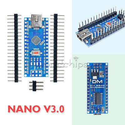 12510pcs Nano V3.0 Ch340g Usb Atmega328 Micro-controller 5v 16m For Arduino