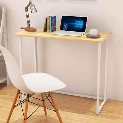 Foldable Computer Desk Folding Laptop PC Table Home Office Study Simple Design