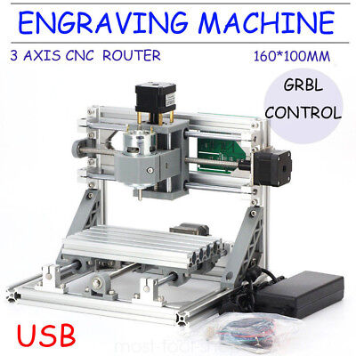 Mini Cnc 1610 500mw Laser Cnc Engraving Machine Pcb Milling With Grbl Control