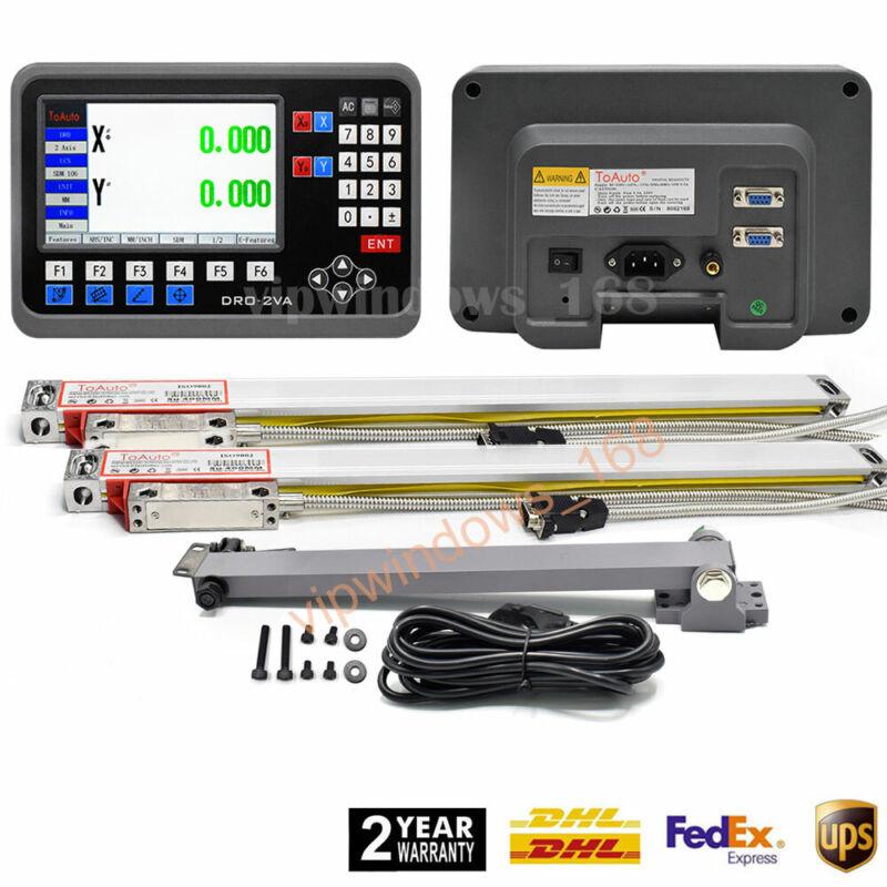LCD DRO Display 2Axis/3Axis Digital Readout Linear Scale Sensor Encoder CNC Mill
