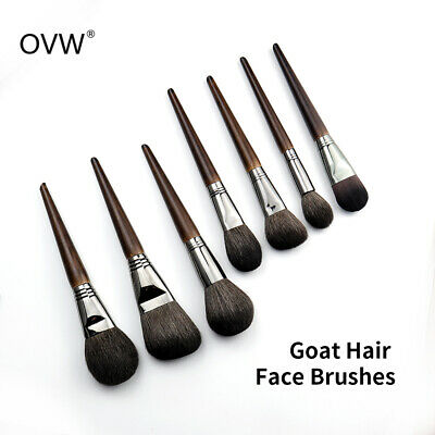 OVW Makeup Brush Set Fundation Powder Blush Highlight Contour Brushes Goat Hair ()