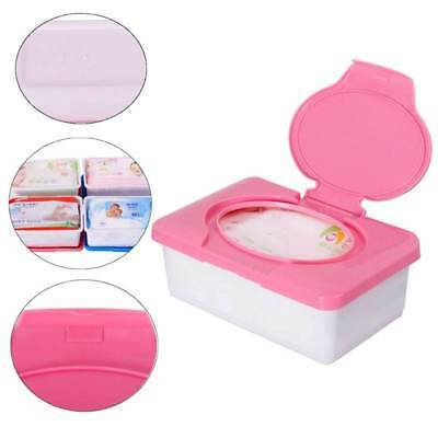 1pc Home Plastic Wet Tissue Baby Wipe Box Case Holder Press Automatic Up Design Designer Baby Wipe Box