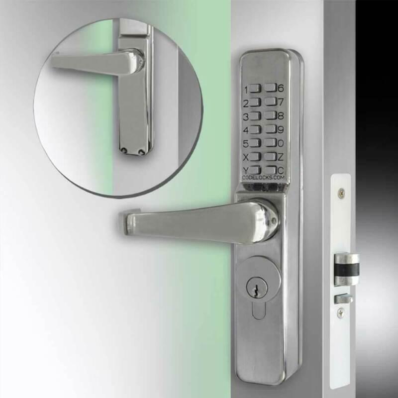 Codelocks CL460 Narrow Stile Threaded (CL460L-SS)