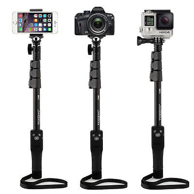 Yunteng Bluetooth Selfie Stick Monopod for iPhone X 8 7 Plus 6s SE Gopro Camera