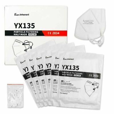 30x FFP2 Atemschutzmaske Mundschutz 5 lagig CE 2834 zertifiziert Maske Mund Nase