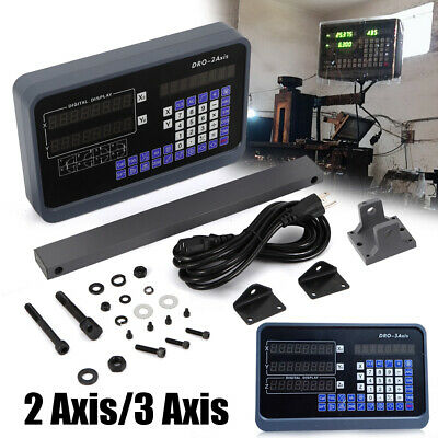 23 Axis Digital Readout Linear Scale Dro Display Cnc Milling Lathe Encoder Usa