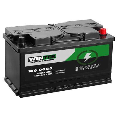 Autobatterie WINTER 12V 100Ah Starterbatterie WARTUNGSFREI TOP ANGEBOT NEU  online kaufen