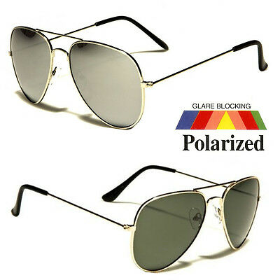 Men Polarized Sunglasses Mirror Driving Aviator Outdoor Sports Eyewear (Mens Aviator Sunglasses Polarized)