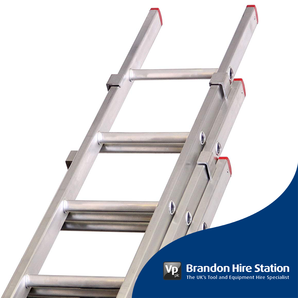 Aluminium Lyte Single Section Industrial Roof Ladder Heavy Duty New