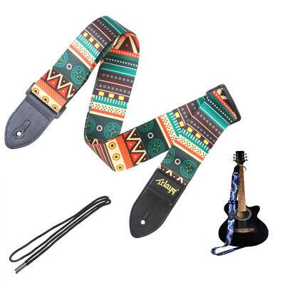 Correa De Guitarra Deluxe Correa De Electrica Guitarra Deluxe Cuero Hippie Cuero