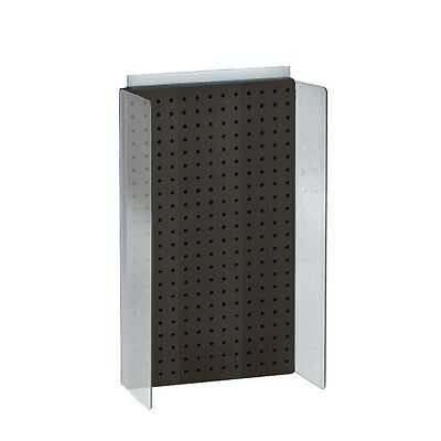 Styrene Pegboard Powerwing Display In Black 13.5w X 22h Inches