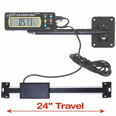 Igaging Digital Readout Ez-view Dro Plus 24 Ac Capable Remote X-lg Lcd Display
