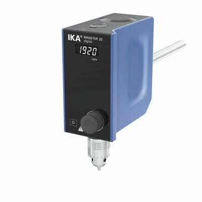 New Ika Ministar 20 Digital Overhead Stirrer 50 - 2000rpm 15lt Max 25006561