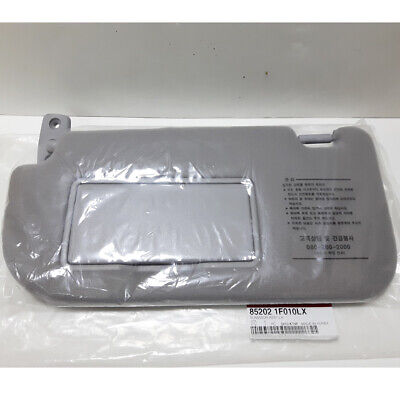 Genuine OEM 2005-2010 Kia SPORTAGE Sun Visor Inside LH Gray 852021F010LX