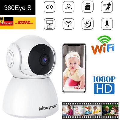 1080P WIFI WLAN IP Kamera Nachtsicht Überwachungskamera Babyfone Baby Monitor DE ()