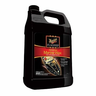 - Meguiars Flagship Premium Marine Wax Gallon M6301 Outfitting Cleaning Boat MD