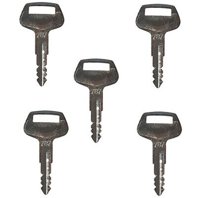 5 Komatsu Keys 787 For Excavator Dozer Loader And Heavy Equipment