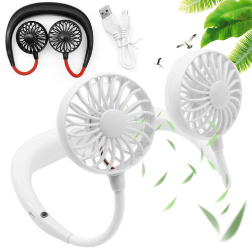 Portable USB Rechargeable Neckband Lazy Neck Hanging Style D