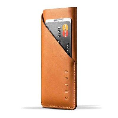 Mujjo - Leather Wallet Sleeve iPhone 6/6S-Tan brun