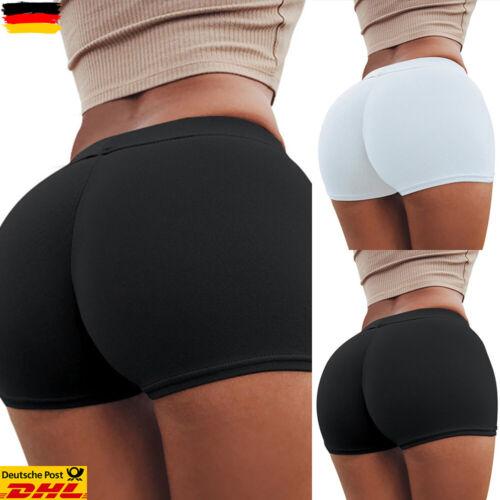 Damen Shorts Kurze Leggings Treggings Bermudas Safety Hosen Hot Pants Unterhose