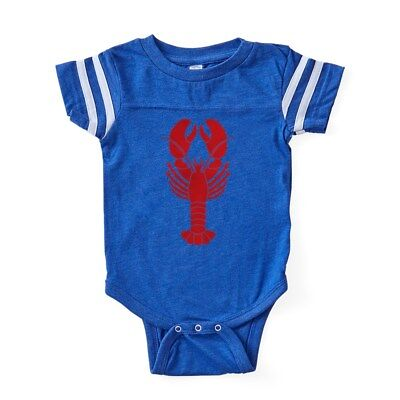 CafePress Lobster Baby Football Bodysuit (302419502) - Lobster Baby