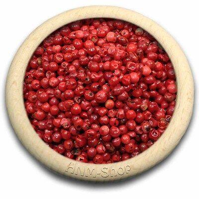 100g Roter Pfeffer - Rosa Beeren ganz Schinus Beeren  ()