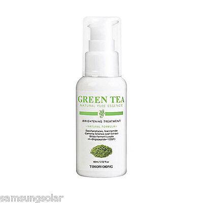 [TOSOWOONG]Green Tea Natural Pure Essence 60ml Lightening+anti-wrinkle treatment - Green Tea Wrinkles