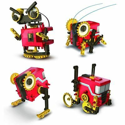 4 In 1 Motorised 3-Speed Educational Robot Set Toy Educational DIY Kit