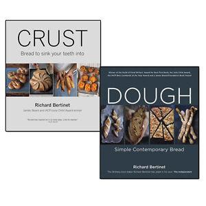 Richard Bertinet Collection 2 Books Set Dough & Crust From Sourdough, Spelt