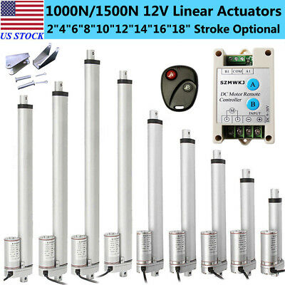 Dc12v 2-18 Heavy Duty Linear Actuator Electric Motor For Medical Lift Auto Car
