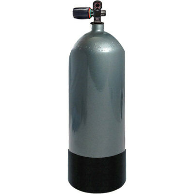 Faber FX Series 80 cuft High Pressure Steel Tank Din/Yoke Diving Scuba Cylinder for sale  Grants Pass