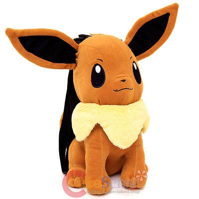Pokemon Eevee Plüsch Puppe Rucksack Weich Plüsch 35.6cm Kostüm Tasche