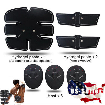 Ultimate Abs Simulator Ems Training Body Abdominal Muscle Exerciser Ab   Arms Us