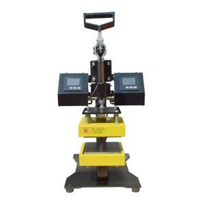 3bef2f90f 5x5 Clamshell Style Heat Press Rosin Dual Element Transfer Machine #110206