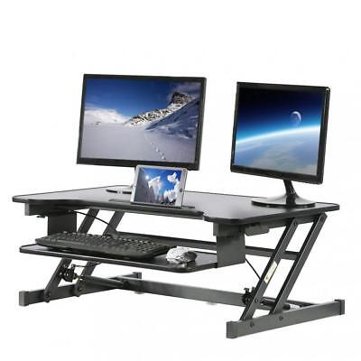 Adjustable Height Standing Desk, Office Stand Up Desk Optional Standing Desk Mat Adjustable Stand Up Desk