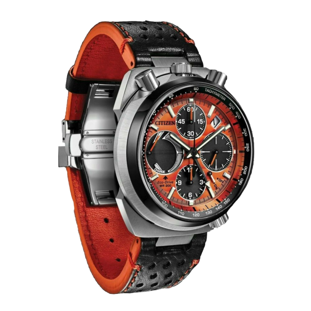 Citizen diver red.