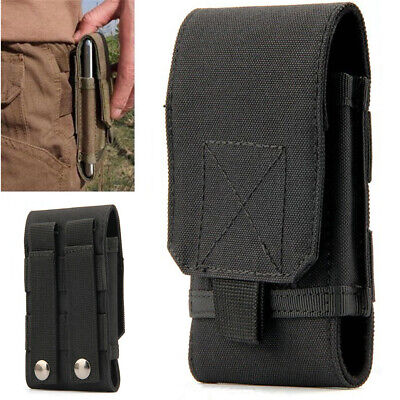 Mens Nylon Belt Loop Cell Phone Pouch Holster Waist Bag Purse Wallet Case Sleeve