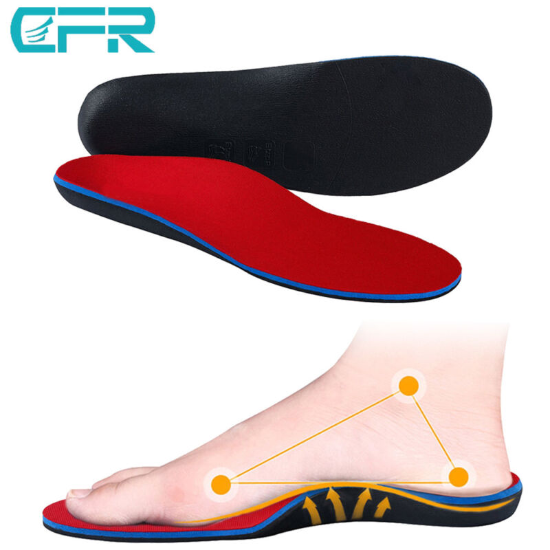 Orthopedic Insole Flat Foot Correction Arch Support Shoes In