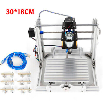 Usb Cnc 3018 Machine Router 3 Axis Engraving Pcb Wood Diy Milling Engraver Er11