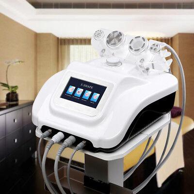 S-shape Ultrasound Cavitation Rf Ems Electroporation Vacuum Machinetrolley