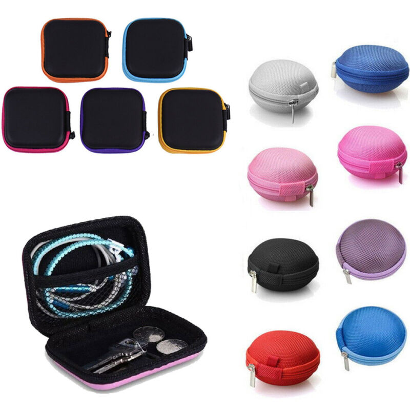 MINI EDC Case Storage Bag Pouch Box For SD TF Card Earphones