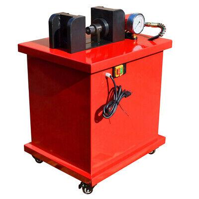 Electric 4-34x38 Thickness Busbar Bender Cuttter Puncher W 4 Dies Hydraulic