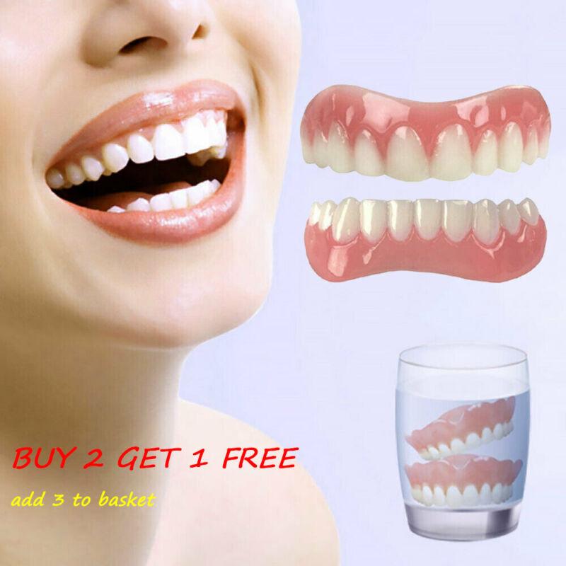 Veneers False Teeth Snap On Instant Smile Veneers Cosmetic Tooth Dentures Dental Health & Beauty
