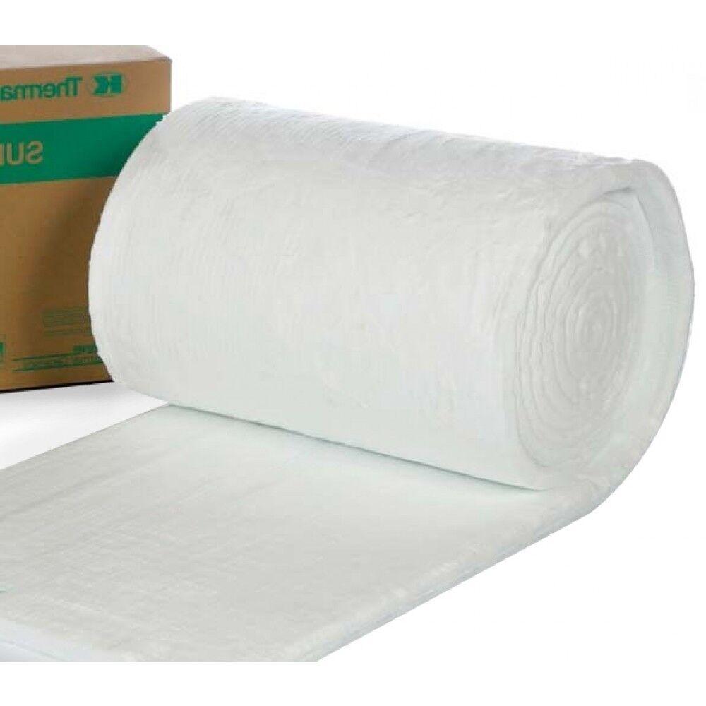 Morgan Thermal Ceramics Ceramic Fibre Blanket 25 Mm Superwool Plus 1 To 7 Mtr 128 Kg