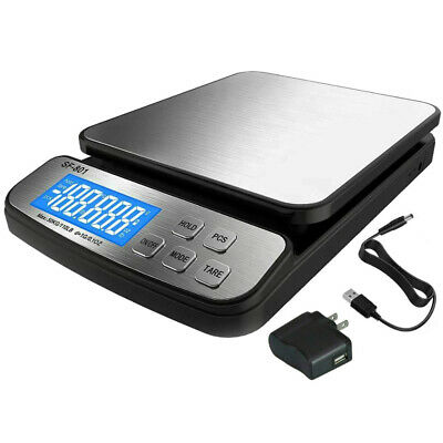 110 Lb X 0.1oz 1g Precision Digital Scale Postal Scale Shipping Ups Usps